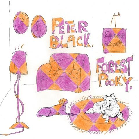 """Blackie / Forst Pooky 12"""" Split"""