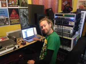 Jason Whalley engineering Peter Black's Song A Day