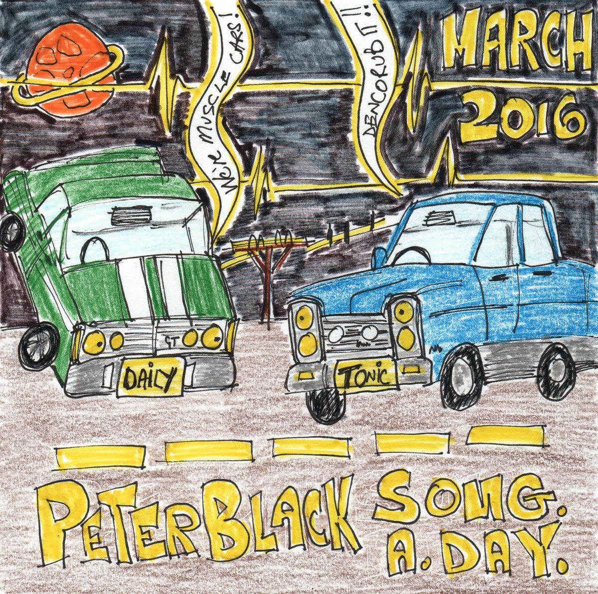 Peter Blackie Black March SAD 2016