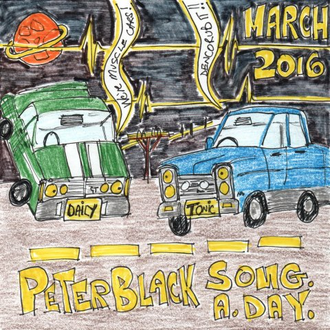 Peter Blackie Black March SAD 2016